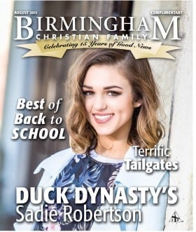 Birmingham Christian Family Magazine August 2015