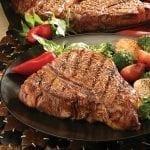 Lucy's T-Bone Steak with Jalapeño Popper Sauce