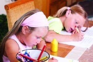 girls homeschool