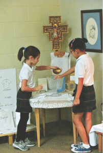 Our Lady of Sorrows Catholic School students are seen here participating in Atrium. Learn more about the program at the school's open house January 29, 1720 Oxmoor Road, Homewood.