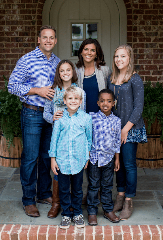 "<em>The Waldens adopted their youngest son Benjamin from Ethiopia in 2011. ""There is no clearer picture of the Gospel than adoption,"" says Forrest Walden. ""He was given a new name and a new country and a new citizenship and new rights and new inheritance. To see where he came from and the desperate nothingness of his situation to now having everything through adoption, that's just a picture of what we have in Christ."" Photo Credit: Amy Henry Photography</em>"