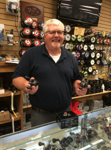 <em>Big John is ready to help you pick out the reel that will make the best Christmas gift for a friend, family member or you!</em>