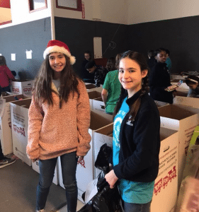 <em>Service projects are one of the ways students at Our Lady of Sorrows Catholic School use their time and talents to help others in the community.</em>