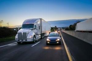 bigstock Wheeler Semi Truck On The R 217541947