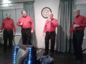 <em>Peachtree Senior Living residents enjoy a recent Valentine's Dance at Peachtree's Independent Living in Trussville. The event included live music by The Kool Kats.</em>