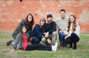 <em>In 2015, Duck Dynasty's Missy Robertson authored the book Blessed, Blessed…Blessed chronicling her family's journey of raising a child born with a cleft lip and palate. Now she and daughter Mia are co-authoring a series of fiction chapter books for young girls with seasoned Faithgirlz author Jill Osborne. Pictured here are Mia, Cole, Missy, Jase, Reed, and Brighton Robertson.</em>