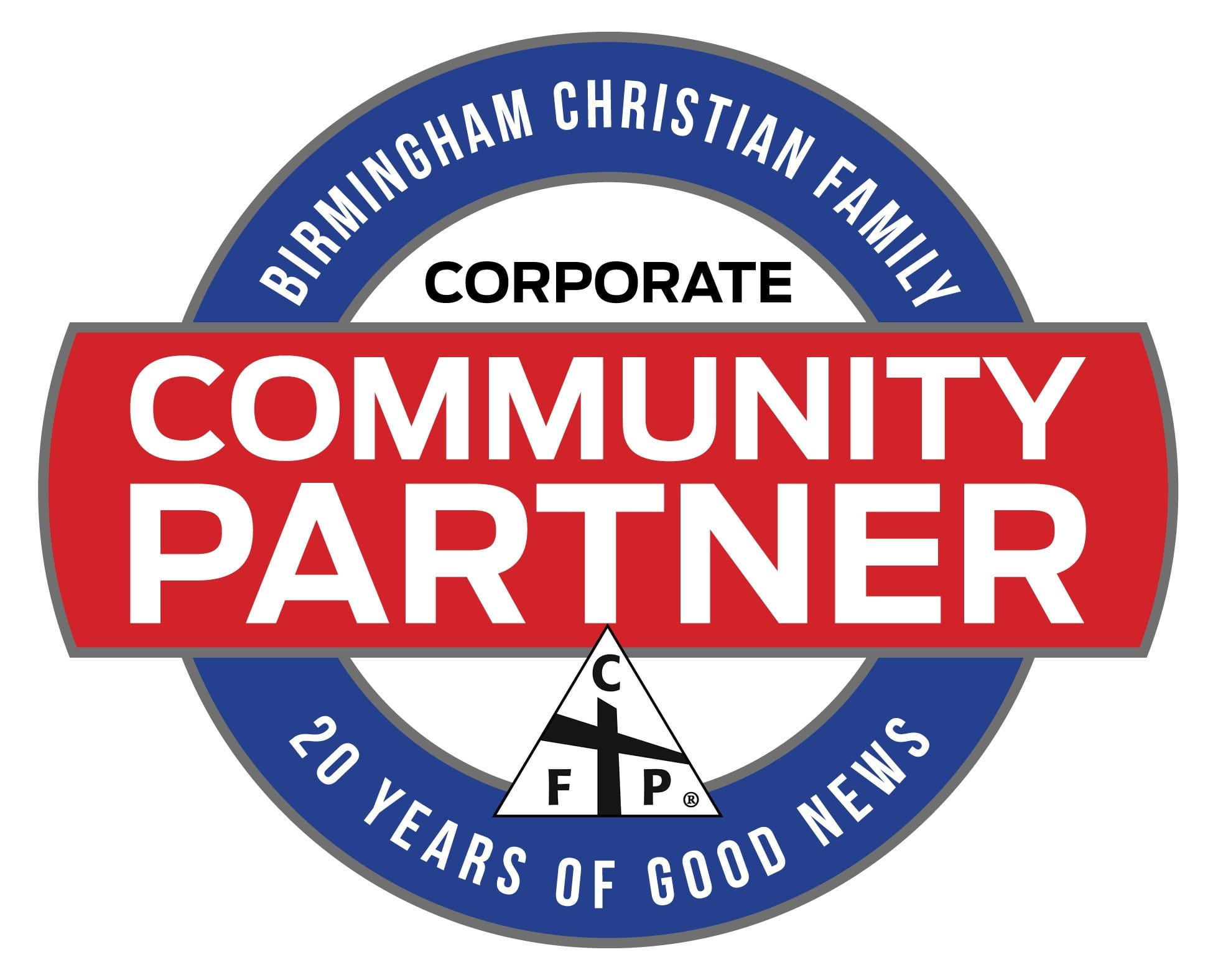 Community Partner Logo 20 Years