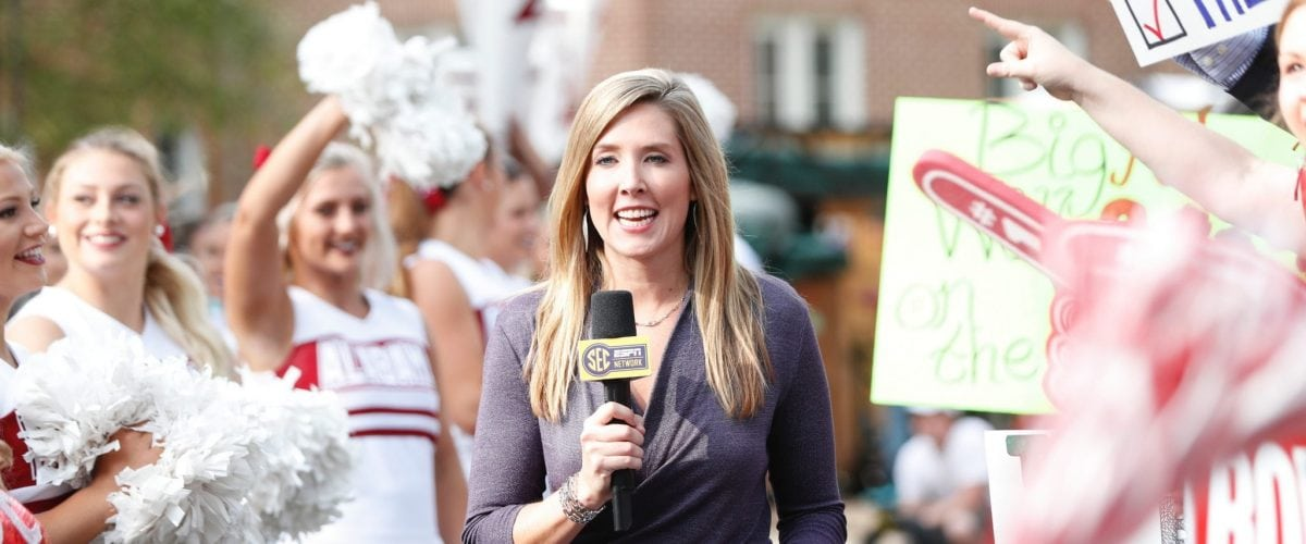 Lauren Sisler Game Day Alabama RS558603 102117 MFB SECNation ABB392 Photo Credit Amelia Barton ESPN Images