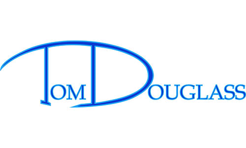 Tom Douglass Logo for Home Page and Community Partner print ad 0418 bcf