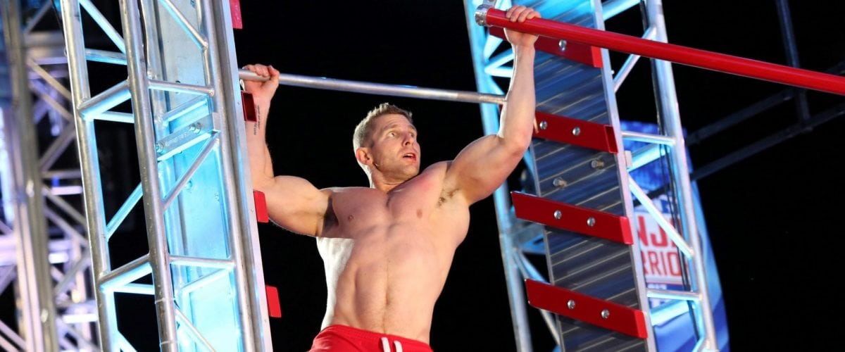 Eddy Stewart competing American Ninja Warrior Photo Credit Myron LuzniakNBC AMERICAN NINJA WARRIOR