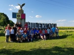 A team of volunteers from Valleydale Church recently traveled to Moldova to spread the Good News of Jesus Christ and assist with the physical needs of the people in the Village of Holercani.