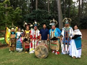AFor the 9th year in a row, Aldridge Gardens in Hoover will host Whispers of the Past, Sunday October 7. Poarch Creeks from Atmore, Ala. will demonstrate authentic Pow Wow dancing.