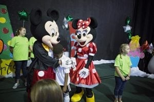 Merry Market 2018 includes a special event for children from 10am-Noon on Saturday October 20.  Cookies with Characters gives children a chance to meet and take pictures with Mickey, Minnie, Cookie Monster and much more! Learn more at www.justkeepsmiling.org.