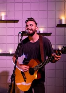 Praised for his intricate guitar and piano work, Jeremy Moore studied classical music at Samford University. Hear him perform hymns from his new project,Pillars, October 28 at 6 p.m. at Mountain Brook Community Church.
