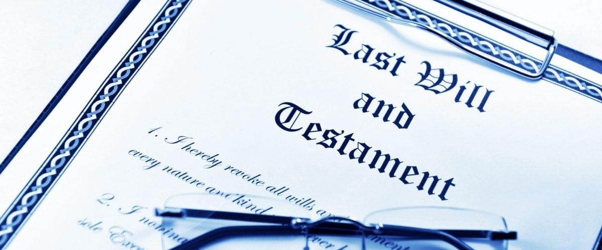 bigstock Testament 23003474