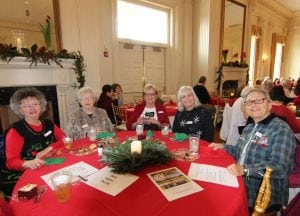 The American Village's annual Colonial Christmas Lunch and Tour has become a Christmas tradition for families, clubs, senior groups, office staffs and church groups.