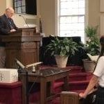 Retirement = Giving Back at Glen Iris Baptist School