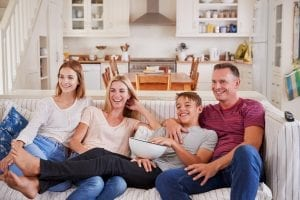 bigstock Family With Teenage Children S 206014534