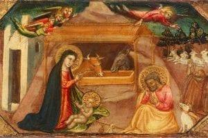 Birmingham Museum of Art Nativity by Bicci di Lorenzo Italy 1410