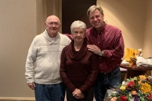 Church Leaders Clearbranch Rhoades and wife with Clearbranch Lead Pastor Vaughn Stafford