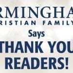Thank You Readers!