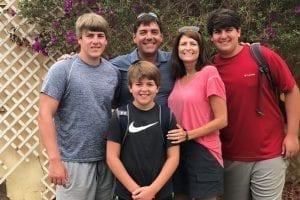 Mission Makers Splawn family Karen Allen