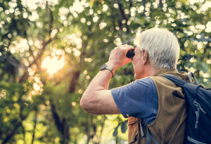 Binoculars are a real plus to have at the Festival of Cranes and to have on hand to get the best view of the wild life in your own backyard. Visit the experts at Mark's Outdoors to find the pair that best suits your needs.