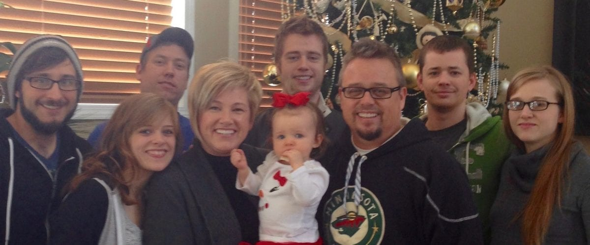 Special Feature Chris Danielson WXJC Family Christmas pic