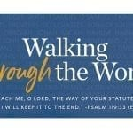 Walking through the Word: Beeson Lay Academy Spring 2019