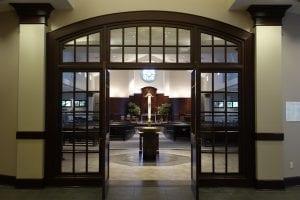 Church Leaders Sensory Friendly Mass Prince of Peace sanctuary image