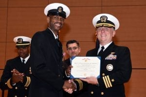 Photo Fun Navy Officer Honored