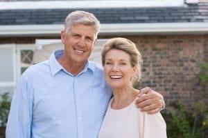 bigstock Portrait of a happy senior cou 150057251