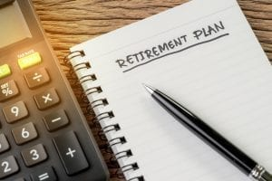 bigstock Retirement Plan Concept Calcu 299445301
