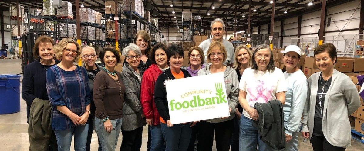 Photo Fun Prince of Peace women at food bank