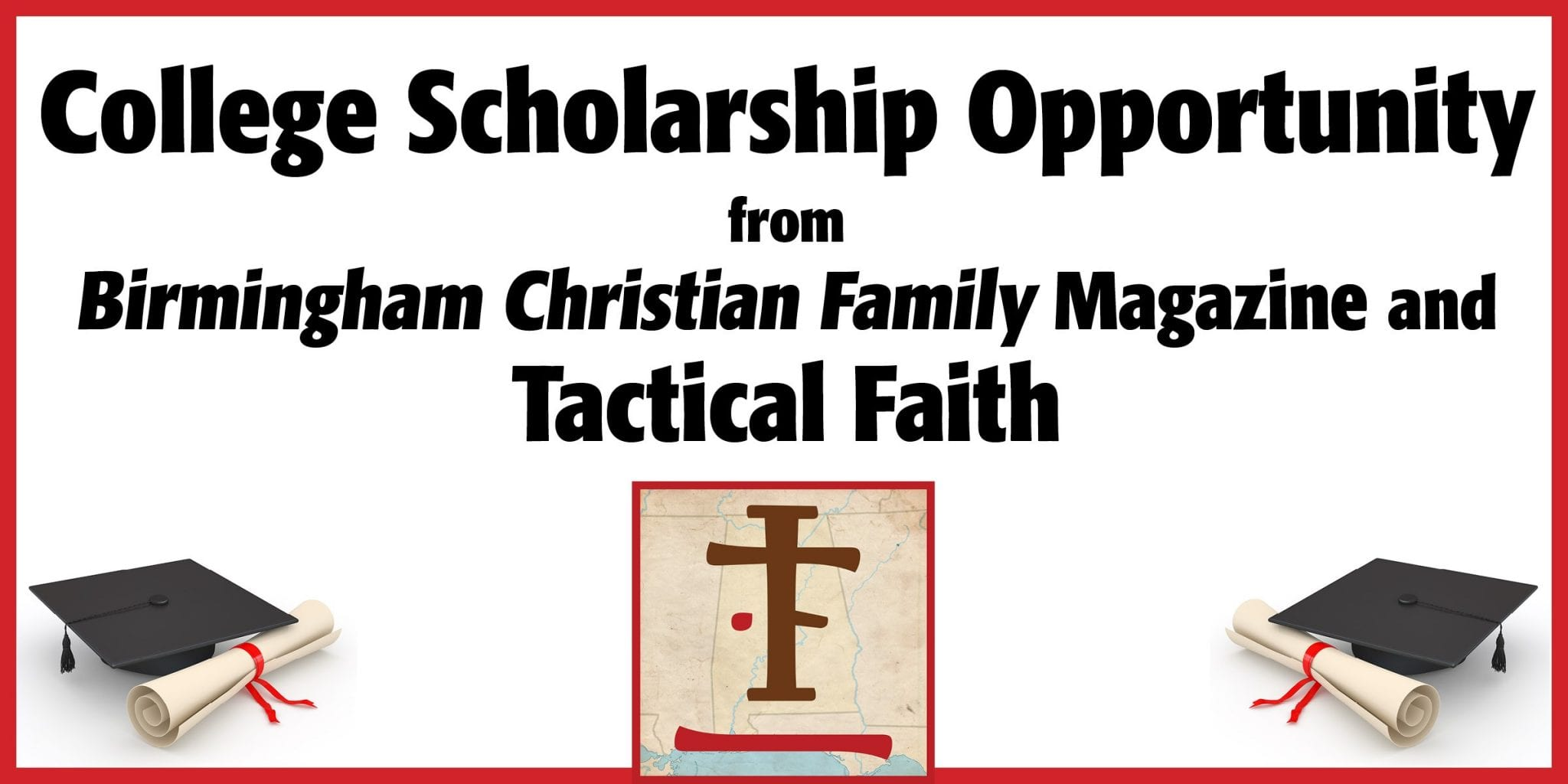 Scholarship Featured Image with Sponsor recognition Tactical Faith 2019 BCF jpeg
