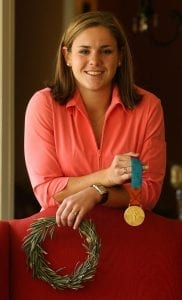 Olympic Gold Medalist Catherine Reddick Whitehill will be inducted into the Alabama Sports Hall of Fame, Class of 2019, at the Sheraton Birmingham Hotel on April 27, 2019. Her parents live in Birmingham.