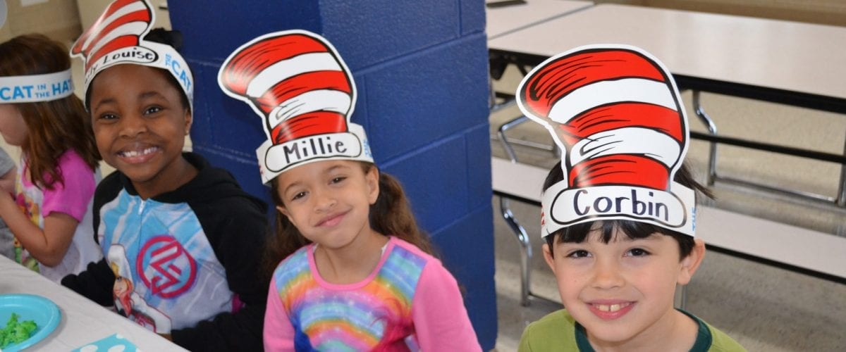 Educatin Extra OLS Dr. Seuss Celebration pic