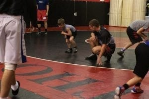 Special Feature Warrior Wrestling pic of Coach Shad with young kid need to crop closer