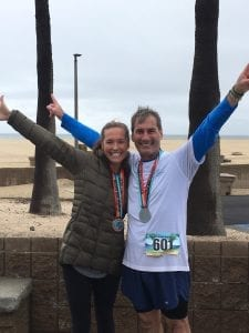 King's Home President Lew Burdette was challenged by family to run a marathon in honor of his 60th birthday. In March, he and daughter Sarah Gabel participated in the SoCal Marathon in California. He dedicated the effort to King's Home and raised more than $60,000. Promoted on social media as #Lews60for60, donations are still being accepted at KingsHome.com.