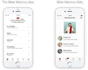 Both Bible Memory apps are available for download on Apple, Android and Kindle devices. You can even start memorizing online at www.BibleMemory.com. Here's also QR Code you can use to download the app.