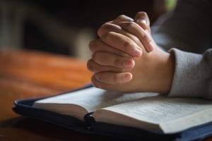 bigstock Close Up Woman Hand Praying W 264824791