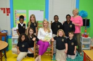 Miss Alabama Jessica Proctor visited Ascension Leadership Academy to read with the students.