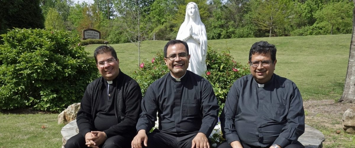 church leaders POP Fr. Jose and visitors