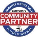 Community Partner Logo 20 Years