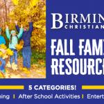 Fall Family Fun Resource Guide