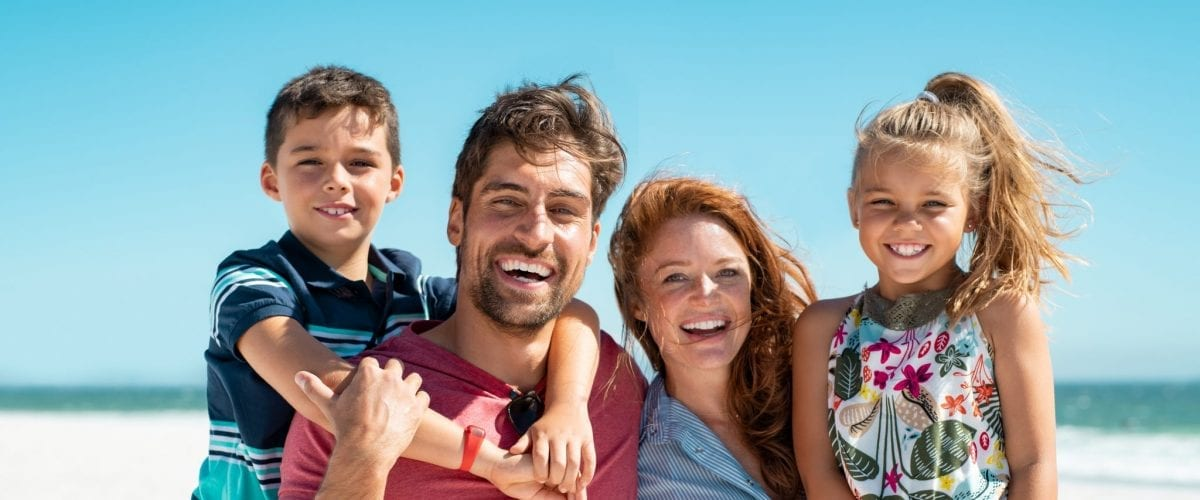 bigstock Portrait of happy family looki 291451024