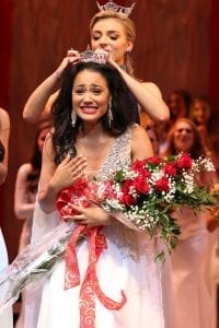 Helena's Tiara Pennington will soon compete for the title of Miss America. The 20 year old participated for the first time in Miss Alabama in 2018 and was named first runner up. She is seen here being crowned Miss Alabama 2019! Photo Credit: Stacy Cobb, Courtesy of Miss Alabama Pageant, Inc.