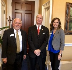 Will Bright Foundation Lisa with Robert Aderholt