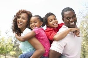 bigstock Portrait Of Happy Family In Pa 13909304