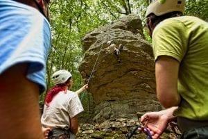 Boy Scouts Comer Rock2